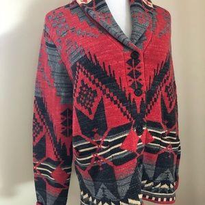 Fabulous Ralph Lauren Jeans Aztec cardigan.